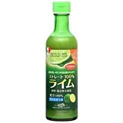 メキシコ産ライム果汁290ml ストレート100%果汁 香料・保存料不使用に贈る